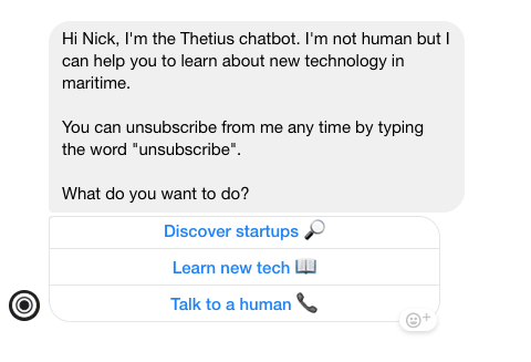 Thetius Chatbot